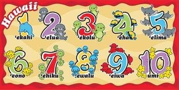 "Numbers Sealife 30""x60"" Beach Towel"