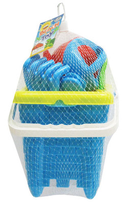 Sand Castle Square Bucket Set