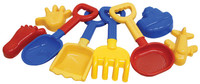 8 Piece Sand Tools Set