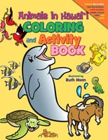Animals in Hawai'i Coloring and Activity Book