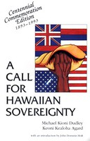 A Call for Hawaiian Sovereignty