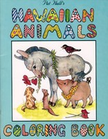 Hawaiian Animals Coloring Book