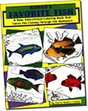 Hawai'i's Favorite Fish Coloring Book