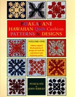 Poakalani Hawaiian Quilt Cushion Patterns and Design V.1