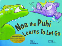 Noa the Puhi Book/CD and Plush Hand Puppet Box Set