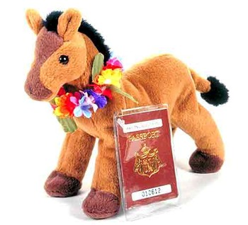 Hawaiian Collectibles - Ka'inapu the Horse