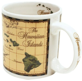 20 oz Mug - Island Chain Map
