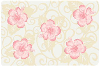 Placemats - Pink Hibiscus (Set of 6)