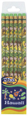 12 Pack Monkey Pencils