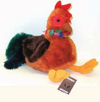Hawaiian Collectibles - Ha aheo the Proud Rooster of Kauai