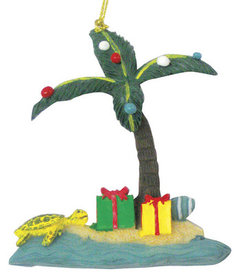Christmas Ornament (Flat) - Island Xmas Tree