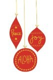 "Boxed 4""x6"" Hawaii Christmas Cards - Christmas Ornaments"
