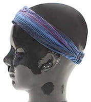 Island Headband - Striped Blue
