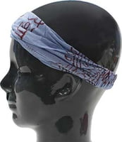 Island Headbands - Batik Light Blue