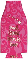 Bottle Flat Coolie ~ Real Girls Drink Beer