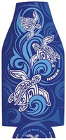 Bottle Flat Coolie ~ Tribal Honu Wave