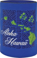Can Coolie - Aloha Hawaii Tapa Blue