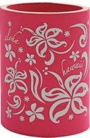 Can Coolie - Aloha Hawaii Pua Pink for 12oz