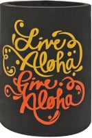 Can Coolie - Live Aloha Black for 12oz