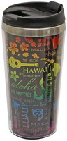 Stainless Steel Double Wall Tumbler - Hawaii Icons
