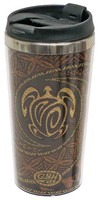Stainless Steel Double Wall Tumbler - Honu Tapa