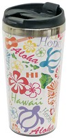 Stainless Steel Double Wall Tumbler - Words Of Hawaii