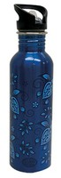 Water Bottle - Blue Honu