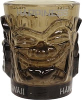 Shot Glass Ooga-Shaka Tiki Light Smoke (set of 4)