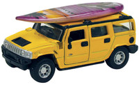 Hawaiian Surf Car -Hummer H2