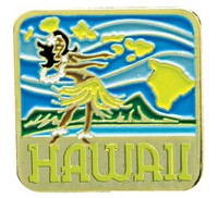 Pin Hula Hawaii