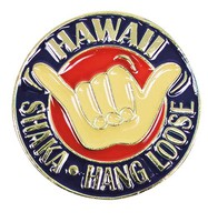 Pin Hawaii Shaka