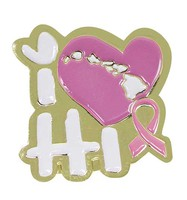 Pin I Love Hawaii Pink