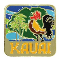 Pin Hawaii Rooster
