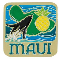 Pin Maui Whale / Pineapple