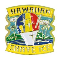 Pin Hawaiian Shave Ice
