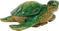 "Green Sea Turtle 10"" Keepsake Box"
