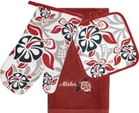 3 Piece Kitchen Towel Set - Honu