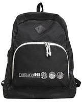 Backpack Collapsible Natural HI Black