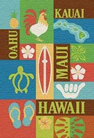 Aloha Print Playing Cards