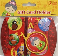 Xmas Gift Card Holder 12 Days 3PK (Set of 10)
