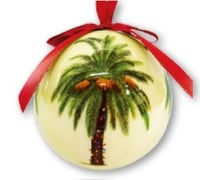 Hawaii Christmas Ornament Ball - Scolaire Phoenix (Set of 4)