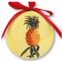 Hawaii Christmas Ornament Ball - Ho'okipa (Set of 4)