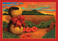 "Boxed 5""x7"" Hawaii Christmas Cards - Christmas Ipu"