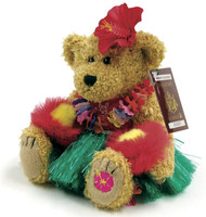 Bearfoot Hawaiian Collectible - Modern Hula Bear