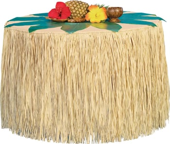 Hawaiian Table Skirting
