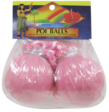 IMPLEMENT MAORI POI BALL PINK