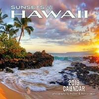 "Sunsets of Hawaii - Deluxe 11"" x 11"" Wall Calendars"