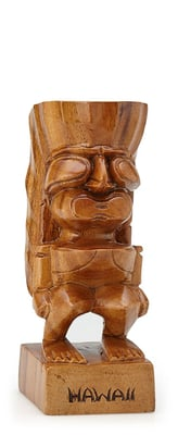 High Gloss Hawaii Tiki Ku 6""