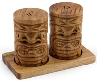 "Tiki Salt & Pepper 2"" x 3"""