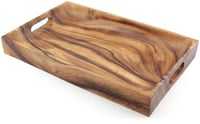 "Rectangular Tray with Handle 16"" x 10"""
